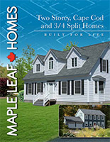 Two Storey, Cape Cod and ¾ Split Homes